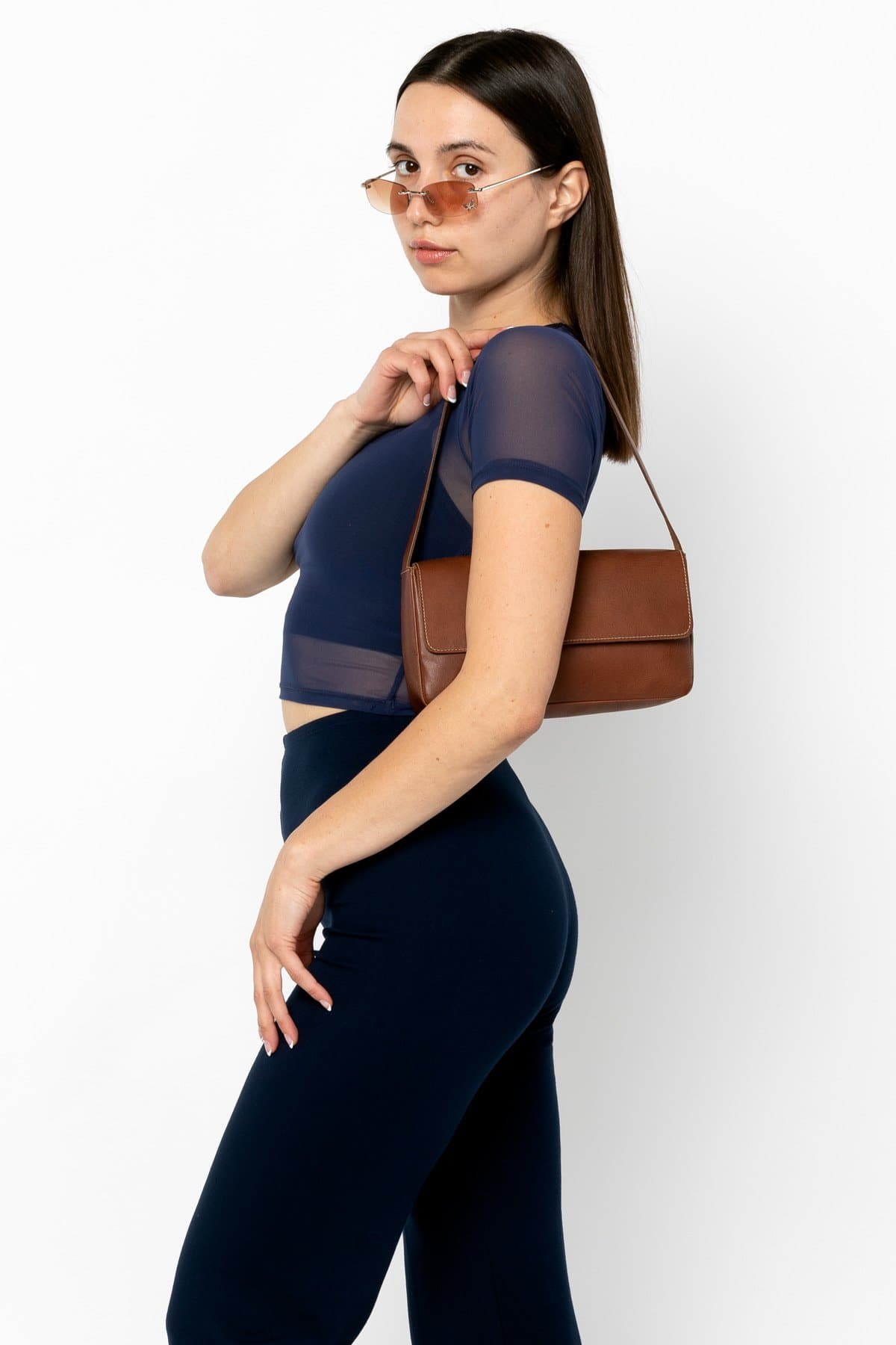 RLH3431 - Leather Shoulder Bag