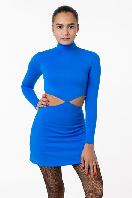 PON408 - Ponte Diamond Cutout Dress