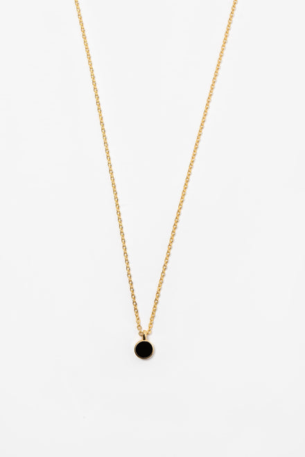 NCKES55 - 5.5mm Enamel Stud Necklace