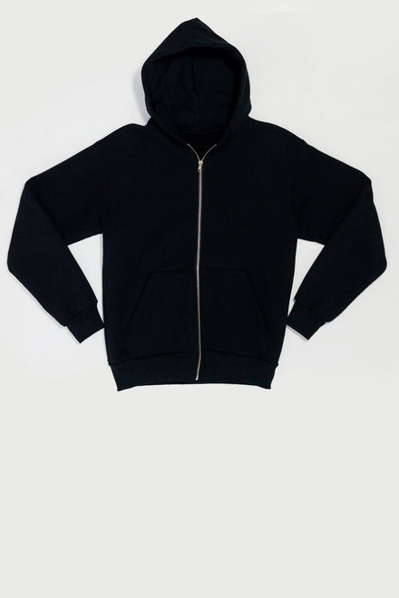 HF10 - 14oz. Heavy Fleece Zip Up Hooded Sweatshirt