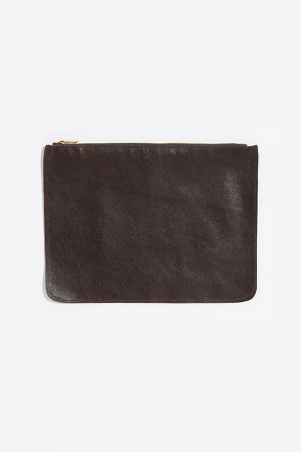 RLH3434 - Small Leather Zip Pouch