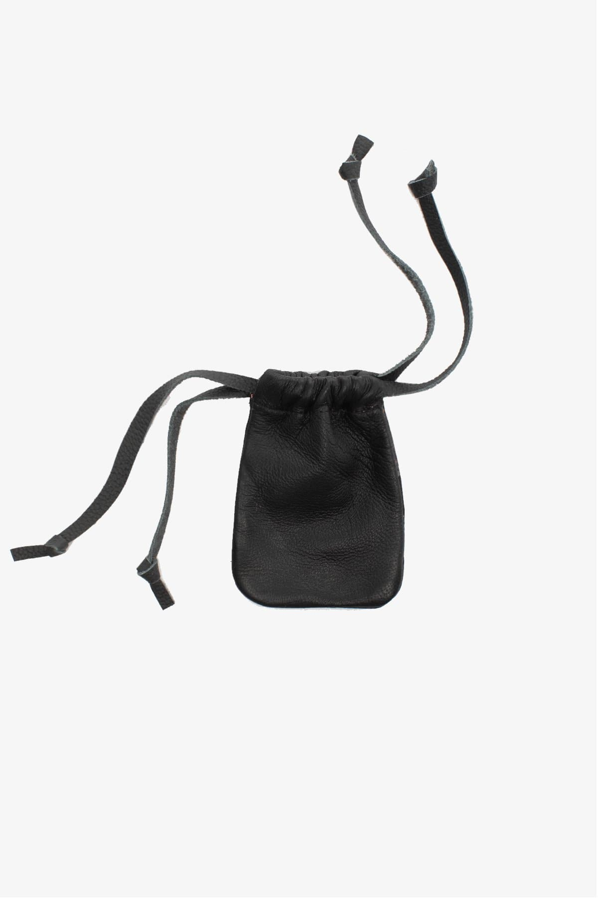 RLH3426 - Mini Flat Leather Pouch