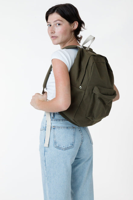 RCC508 - Cotton Canvas Backpack