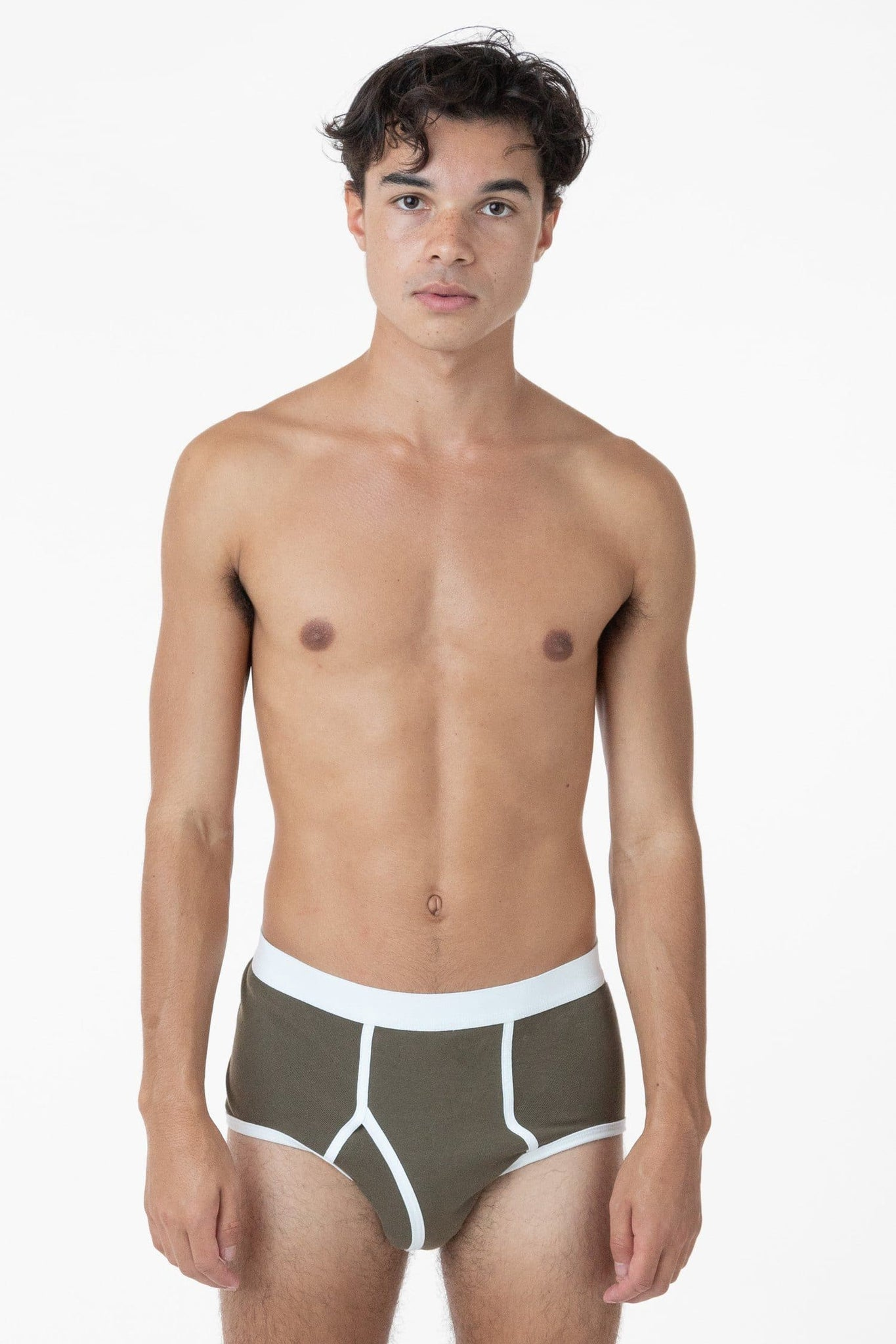 44015 - Men's Baby Rib Brief