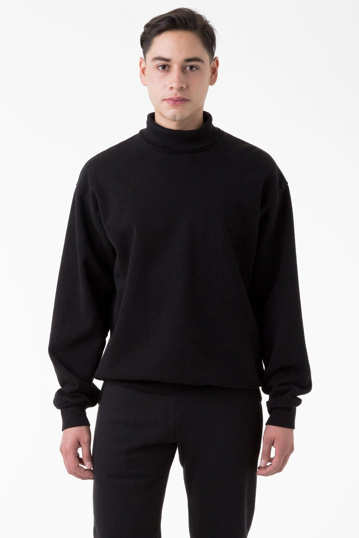 HF13GD - 14 oz Heavy Fleece Turtleneck Sweatshirt