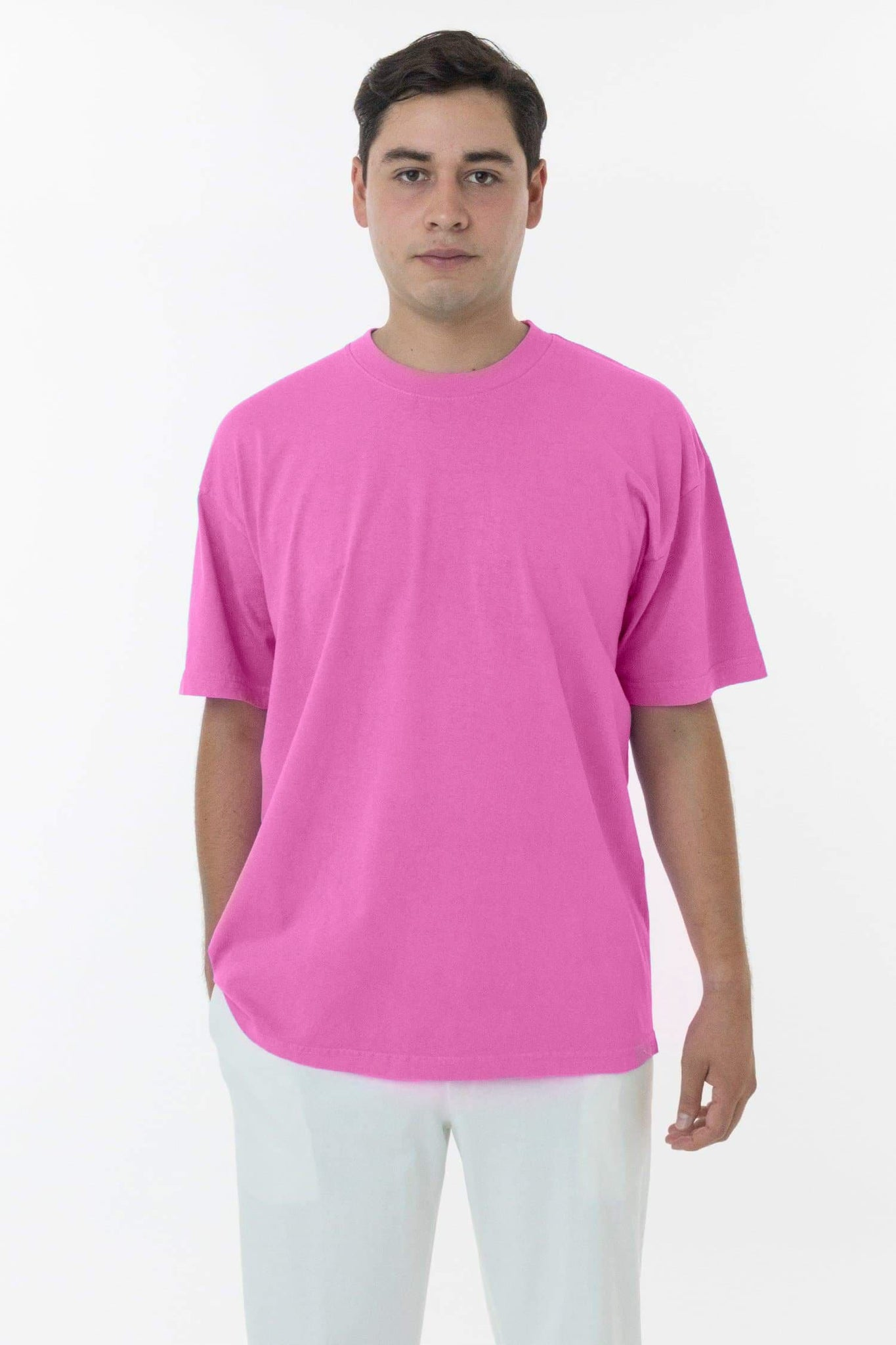 1801GD - 6.5oz Garment Dye Crew Neck T-Shirt
