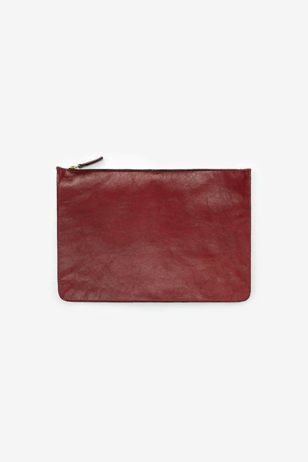RLH3412 - Medium Leather Zip Pouch