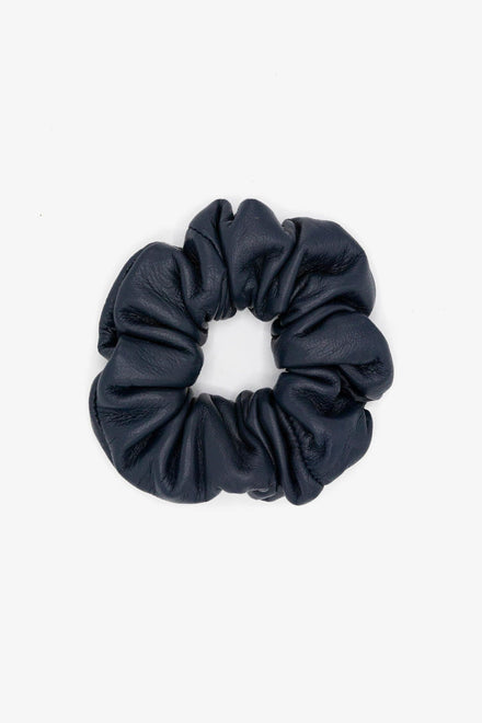 RLHSCRUNCH - Leather Scrunchie