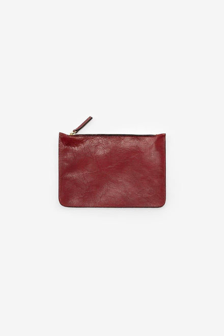 RLH3411 - Small Leather Zip Pouch