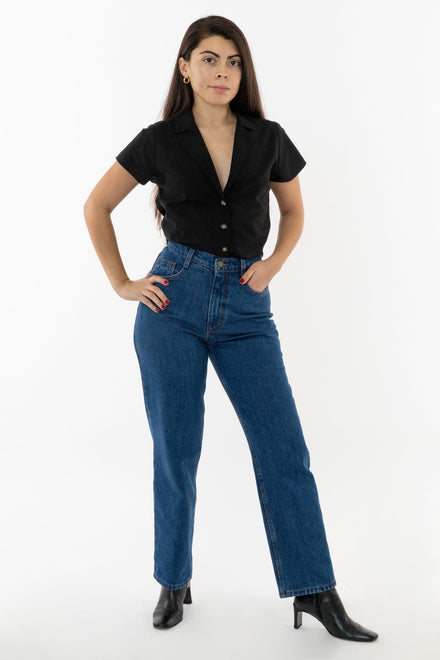 Thalia is 5'5 wearing size 27/28