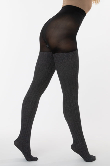 RN012 - Ribbed Sweater Tights