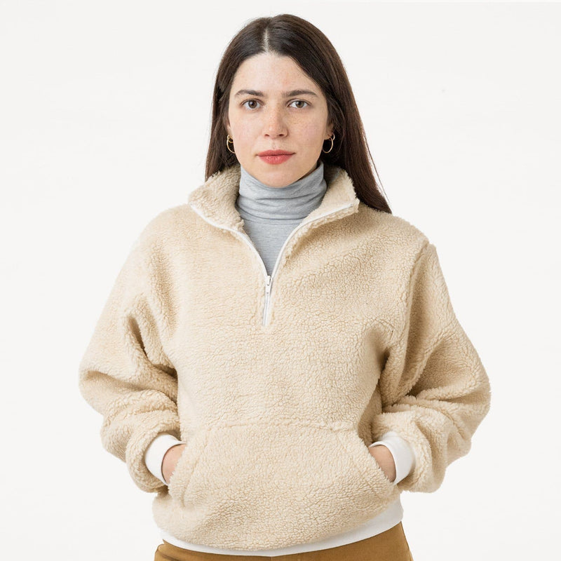 Women Sweatshirts - Sherpa