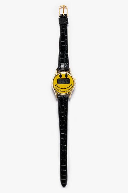 WCHRDWW - Don't Worry Be Happy Women's Watch