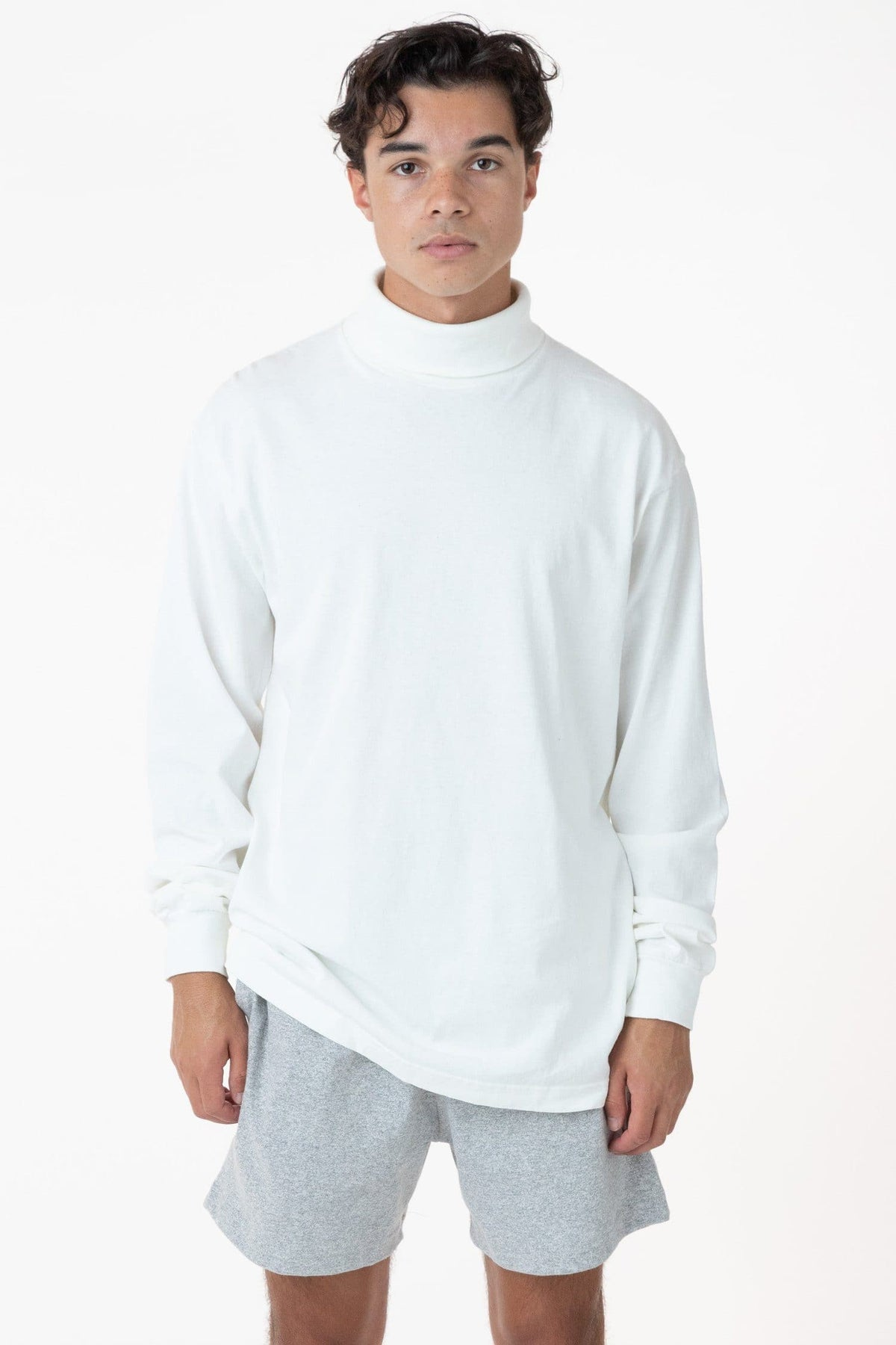 1811GD Unisex - Long Sleeve Garment Dye Turtleneck