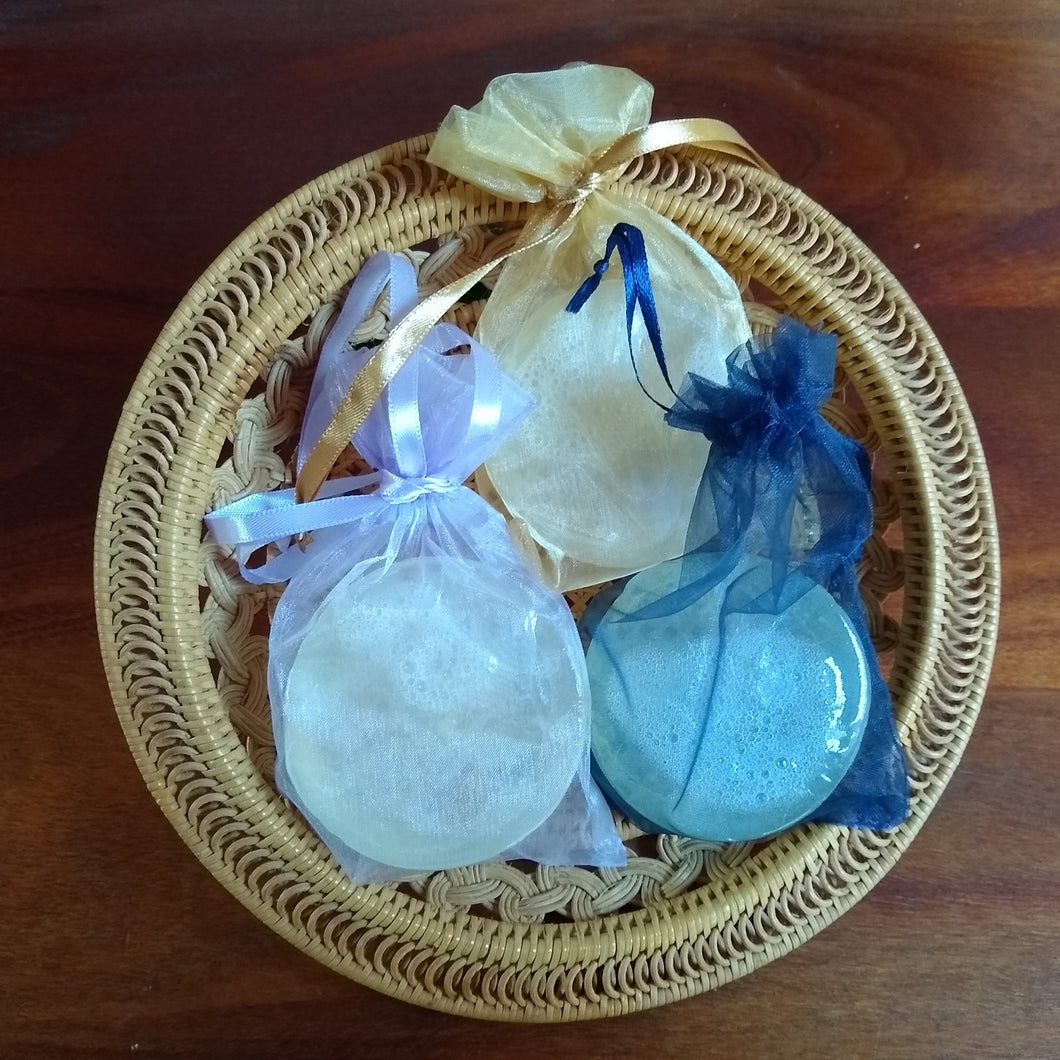 Handcrafted Glycerin Soap Round Bars (3)