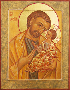 St Joseph with the Child Jesus