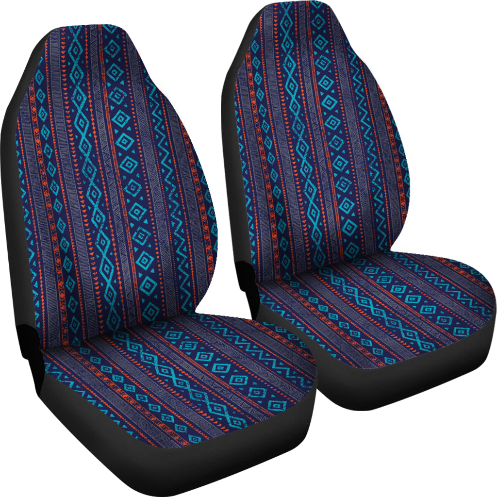 Aztec Blue Car Seat Cover Protector