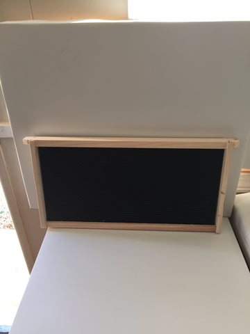 40 -  9 1/8 Wood Frame with Plastic Foundation