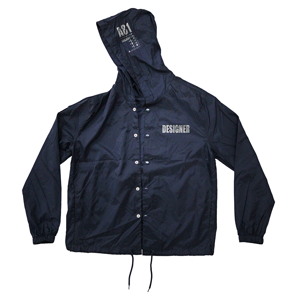 A81 / Hooded Coach Jacket