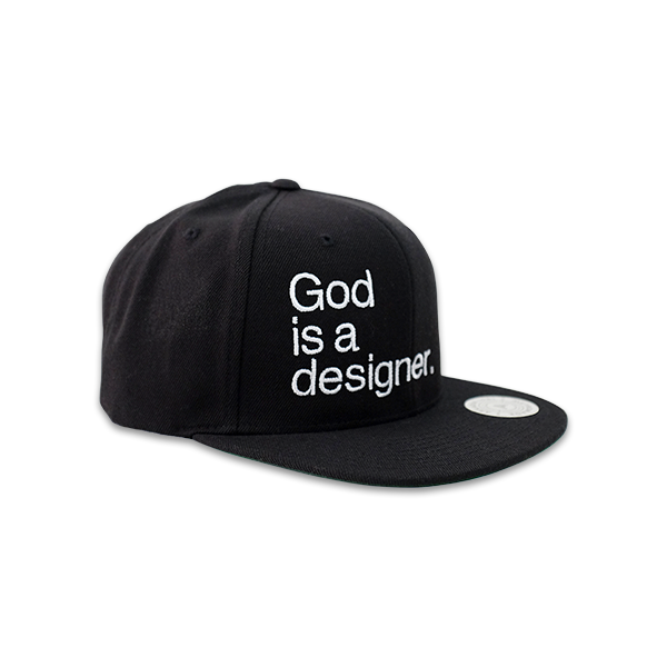 God is a designer.™ Snapback - Arkadia1981