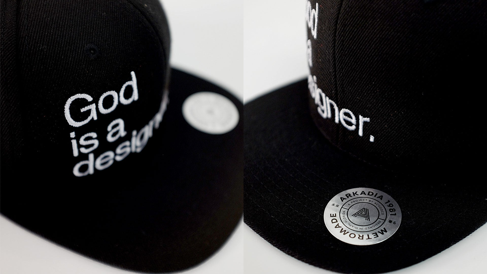 God is a designer.™ Snapback