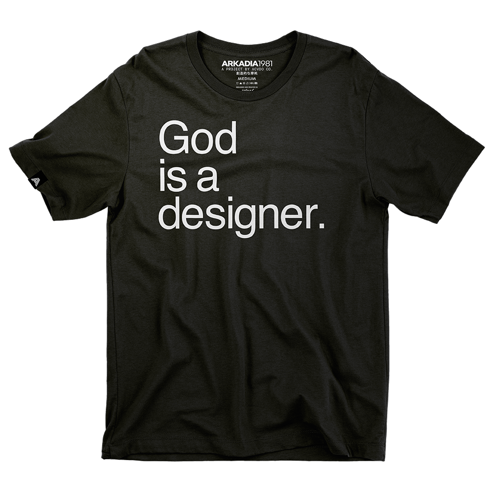 god is a designer
