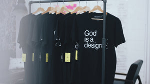 God is a designer.™  X S / S v.2018