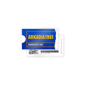 Arkadia1981 Membership Card