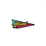 Miami Retro Pin