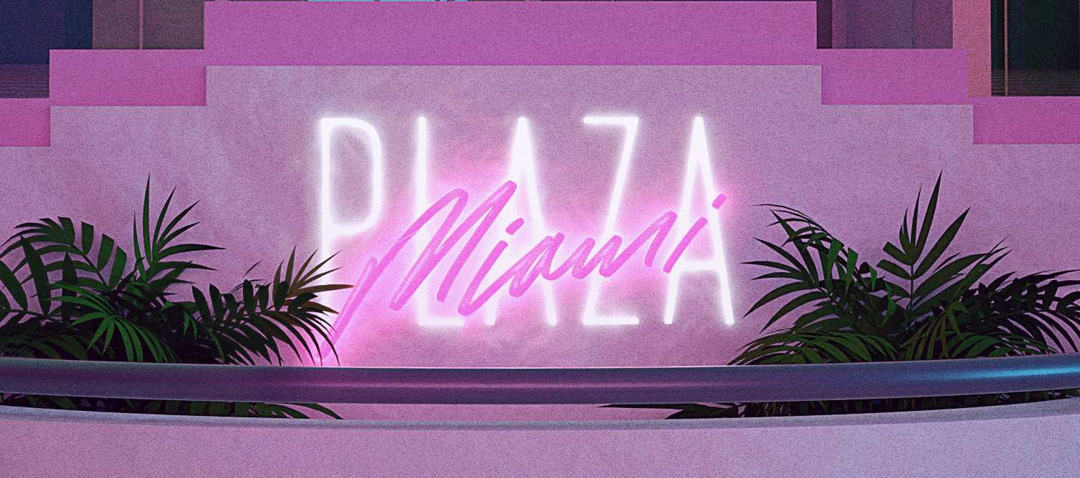 Plaza Miami 1996 Digi Wallpaper - Arkadia1981