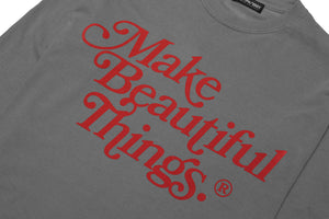 Make Beautiful Things® — L/S (Gray) 綺麗な - Arkadia1981