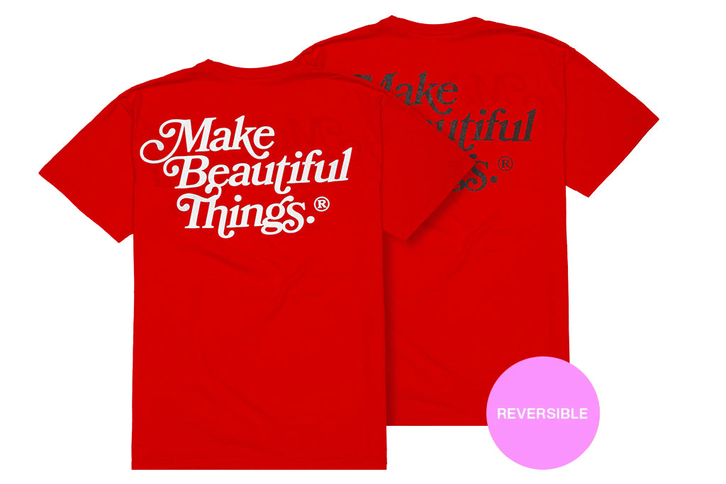 Make Beautiful Things® — S/S (Reversible Red) 綺麗な - Arkadia1981