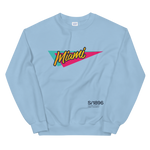 Retro Miami — Unisex Sweatshirt 魔法の街 - Arkadia1981