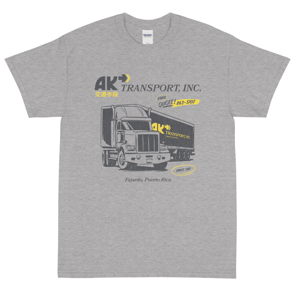 AK Transport, Inc. Beta — Unisex S/S 交通手段 - Arkadia1981