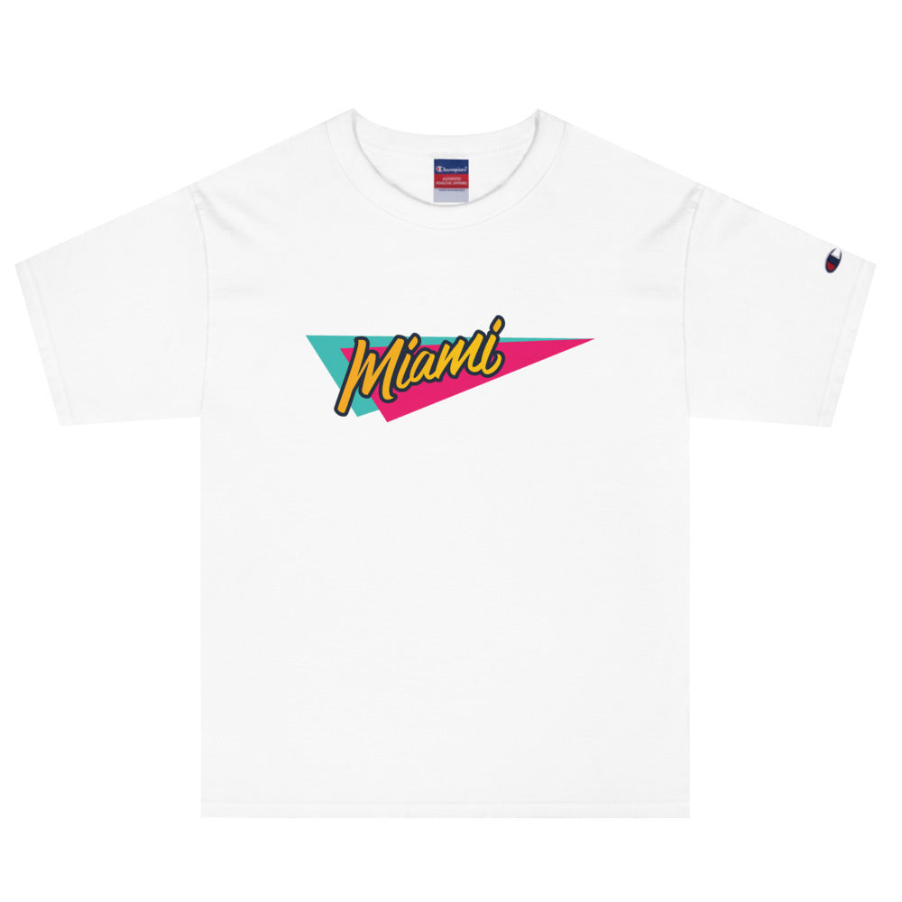 Retro Miami — Champion® S / S 魔法の街 - Arkadia1981