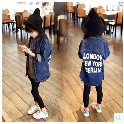 London Denim Jacket - Simply Lennox