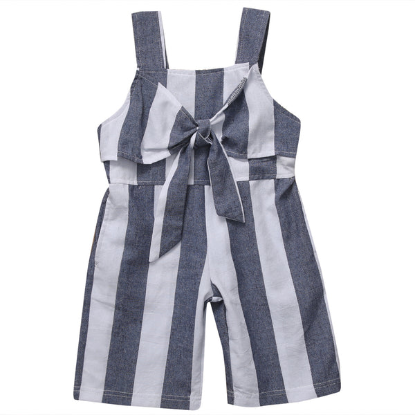 overall for toddler girl, trendy kids clothes, cotton, polyester, casual, spring, summer, stripe design, comfort, blue, white