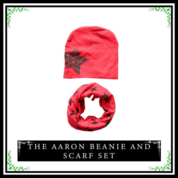 Aaron Beanie and Scarf Set (2pcs) - Simply Lennox