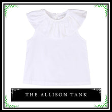 The Allison Tank | Baby Girl Ruffle Tank Top