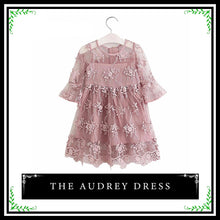 The Audrey Dress | Toddler Lace Floral Dress