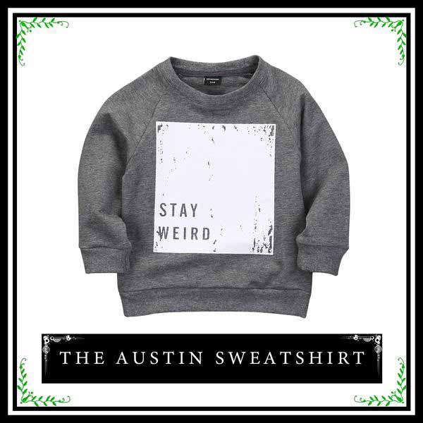 The Austin Sweatshirt | Infant Toddler Sweatshirt For Boys
