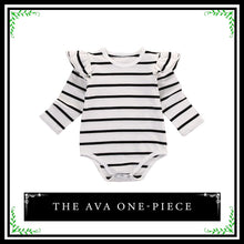 The Ava Bodysuit | Baby Girl Long Sleeve One-Piece Bodysuit