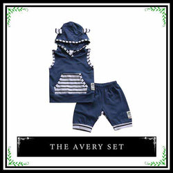 The Avery Set | 2 piece Infant Baby Boy Set