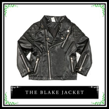 The Blake Jacket | Fashionable Toddler Faux Leather Jacket
