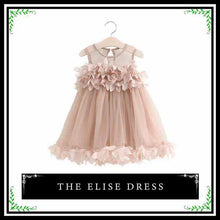 The Elise Dress | Beautiful Princess Toddler Tulle Dress