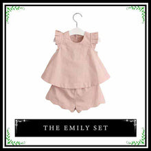 The Emily Set | Adorable Two Piece Matching Set for Young Girl