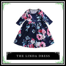 The Linda Dress | Cute Floral Long Sleeve Dress