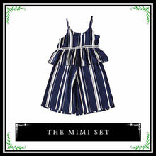 The Mimi Set | Striped Two Piece Matching Set for Trendy Girl