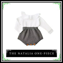 The Natalia One-Piece | Adorable Baby Girl Long Sleeve Romper