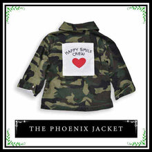 The Phoenix Jacket | Stylish Camo Jacket for Girl